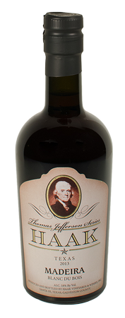 Madeira - Blanc du Bois (Thomas Jefferson) 375 ml Image
