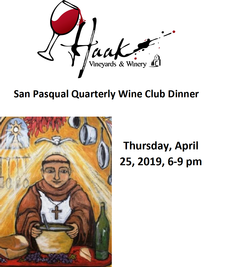 03/21/19 Wine Club Dinner Image